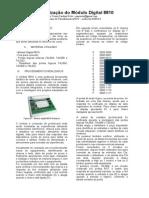 P01 - Utilização do Módulo Digital 8810