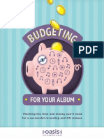 Budgeting for Your Album