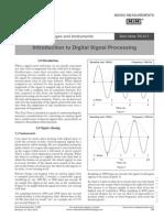 MicroMeasurement Digital Signal Processing