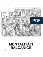 Mentalitati Balcani