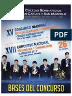 Bases Concursos 2013