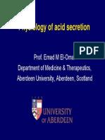 Acid Secretion