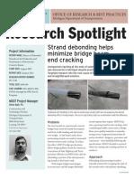 MDOT Research Spotlight Debonded Strands 356315 7