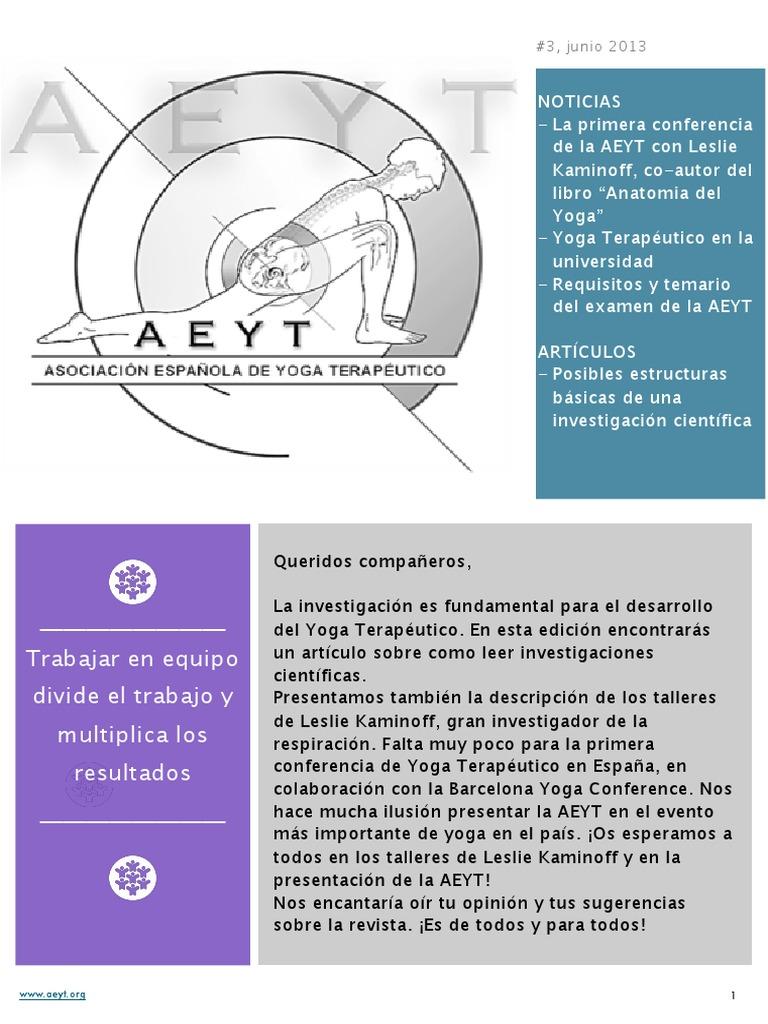 Revista AEYT-Junio 2013