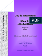 Izva ke dielkwikya (Guy de Maupassant) ~ Histoire d'une fille de ferme