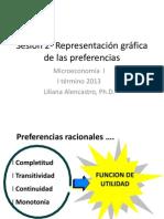 Sesión 2- Representación de las preferencias - Utilidad