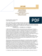 Encíclica Fides et Ratio - Papa João Paulo II
