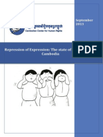 Repression of Expression the State of Free Speech in Cambodia En
