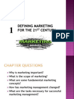 Chapter No 1 Marketing