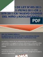 Editado PROYECTO DE LEY N°495-2011-CR NUEVO CD DEL NIÑO