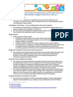Proposed EU OER Policies for the HE Sector Rel 1