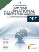 The Immigrant Entrepreneurs -- Ohio, 2013 Award Ceremony in Dublin, Ohio