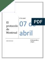 El Protocolo de Montreal