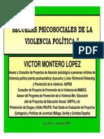 20100111-Secuelas Psicosociales Violencia Politica v Montero PPT