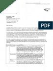 Letter From DJ Stadtler to Szabo - 8-20-13