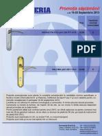 FERONERIA - Promotia Saptamanii s38 16-20 Sept 2013