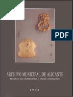 Archivo Municipal de Alicante_Libro