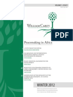 William Carey International Development Journal Winter 2012