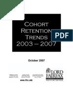 LFCC Cohort Retention Trends