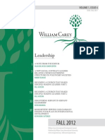 William Carey International Development Journal