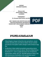 Persentasi Fokus Untuk Dr Gunawan