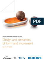 Design and semantics of form and movement - 2008 Proceedings