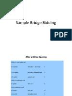 Bridge Bidding