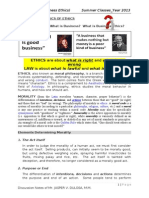 Classroom Notes_business Ethics