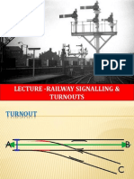 Indian Railway Signals Points & Crossings (Turnouts)