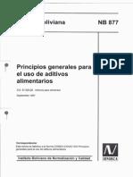 877 Nb Principios Generales Para Uso de Aditivos