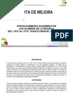 Ruta de Mejora 2013-2014