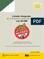 LISTADO DE ALIMENTOS LIBRES DE GLUTEN - 18 de Julio de 2014.doc