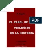 03. El Papel de La Violencia en La Historia.engels