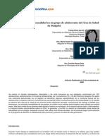 Psicologiapdf 157 Comportamiento de La Sexualidad en Un Grupo de Adolescentes Del Area de Salud De