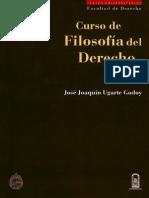 Curso de filosofía del derecho TI Ugarte