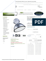 REFLETOR INDUSTRIAL LED UPS 80W - Star Lamp - Lâmpadas LED de alta Qualidade