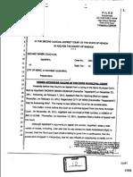 2 13 13 0204 62337 ROA 11 14 12 FHE12 Bates 1793 to 1799 2JDC Judge Elliott's 3 15 12 Order Affirming Ruling of RMC in Cr11-2064 22176 60838