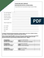 Bns_ Borang Maklumat Tambahan Bidang Pengkhususan & Hospital Latihan Klinikal_ 2013