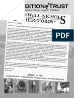 Carswell-Nichols Herefords Fall 2013 Newsletter