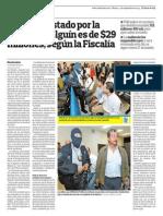 Cazso Diego de Holguin. Corrupcion. El Salvador