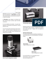 Micro Slide - Linear Stage