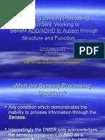 Reaching Sensory Processing Disorders