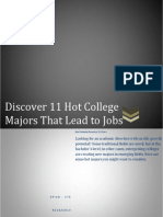 11 hot college majors that lead to jobs