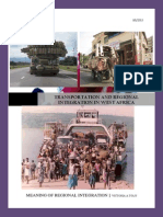Regional Integration and Transportation in West Africa