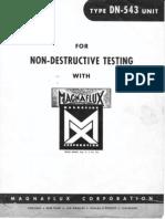 Magnaflux DN-543 Operation Materials