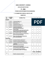 EIE syllabus regulation 2008