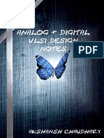 Analog and Digital VLSI Design Notes