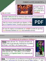 Uno y Trino 05 Formulacion Dogmatica