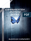Communication System Notes