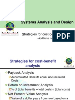 SAAD Cost Benefit Analysis(Notes) (1)